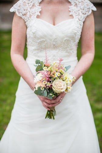 Bruidsboeket met astilbe