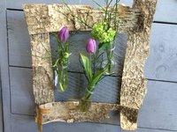 Lijst maken met voorjaarsbloemen