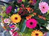 Rouwarrangement Kleurrijk_