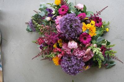 Afscheidbloemen seizoen